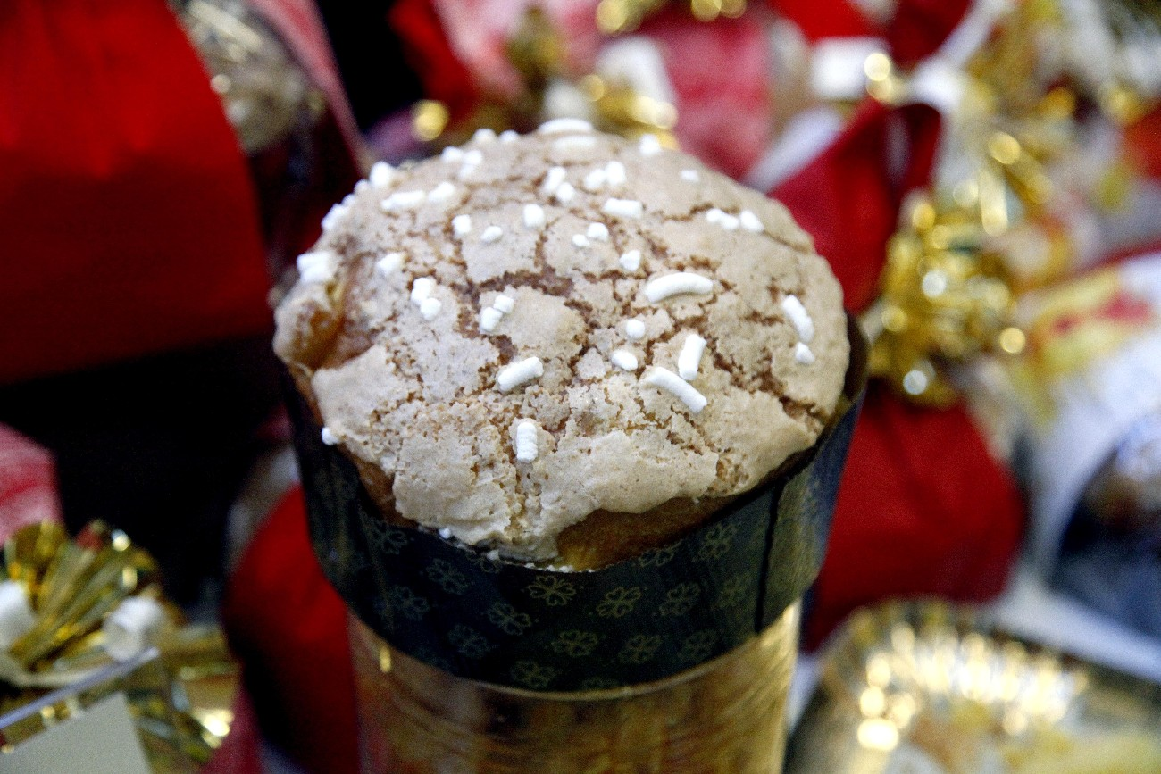 Panettone alle mele caramellate
